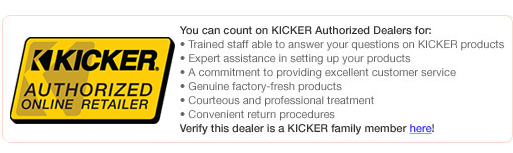 HalfPriceCarAudio - Authorized Kicker Dealer