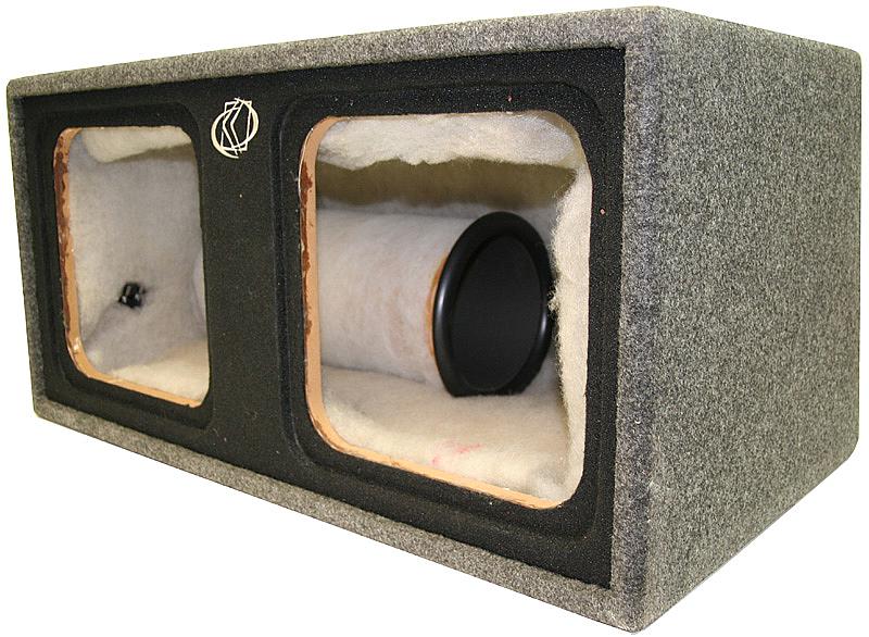 Kicker s12l7 dual 12 l7 vented kicker subwoofer sub box for L ported sub box design
