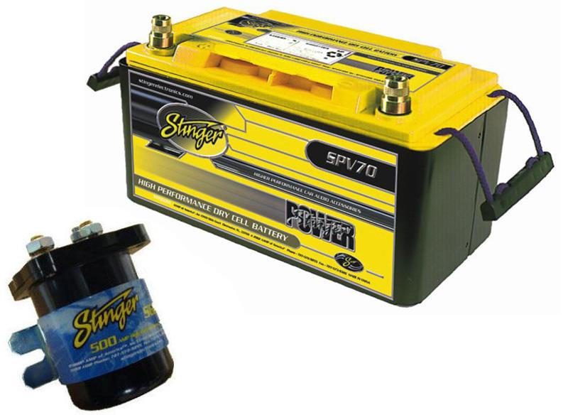 CAR ISOLATOR INSTALL KIT SGP35 RELAY & SPV70 BATTERY | eBay