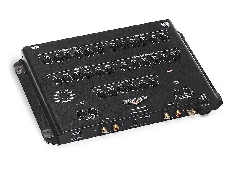 Car Audio Equalizer: NEW KICKER KQ30 CAR AUDIO EQUALIZER 30 BAND STEREO EQ