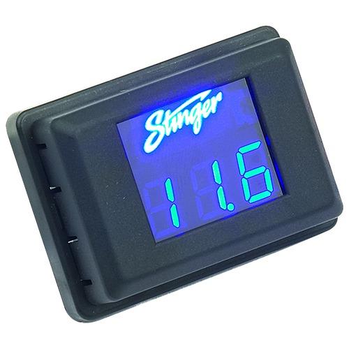 Digital Voltage Meter For Car : Stinger svmb blue volt digital voltage meter car gauge ebay