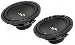"(2) RE Audio REX10 Car Stereo Dual 4 Ohm 700 Watt Peak 10"" Sub Subwoofer Pair System"