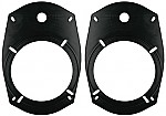 """Metra 82-6901 5-25"""" or 6.5"""" Speaker to 6"""" x 9"""" Mounting Hole Adapter plates"""