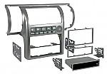 Metra 99-7604 Single DIN / Double DIN Installation Kit for 2003-2004 Infiniti G35