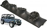 "Jeep Wrangler YJ TJ JK Kicker Package DS525 Custom Quad (4) 5 1/4"" Speaker Sound Bar Pod"