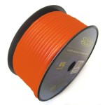 Sound Quest SQVLP18OR 18GA 500 Ft Copper Clad Aluminum Orange Color Primary Wire