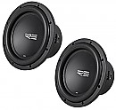 "(2) RE Audio SRX15 Car Stereo Dual 4 Ohm 300 Watt Peak 15"" Sub Subwoofer Pair System"